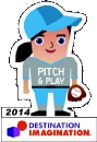 pitch and play challenge pin