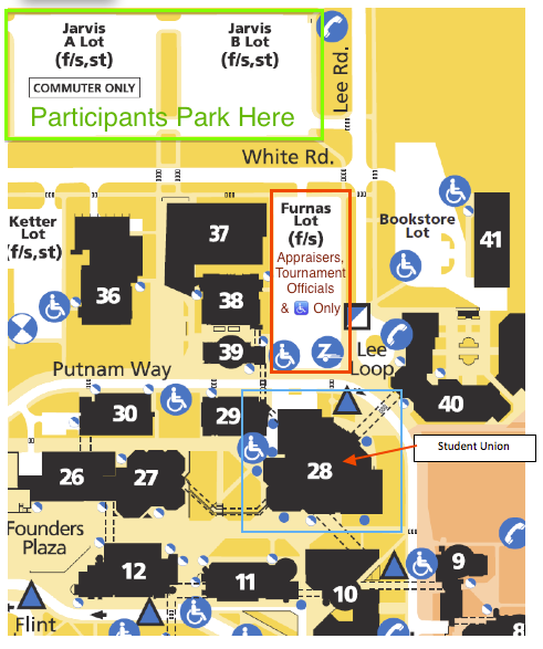 2015 UB Student Union Detail Map
