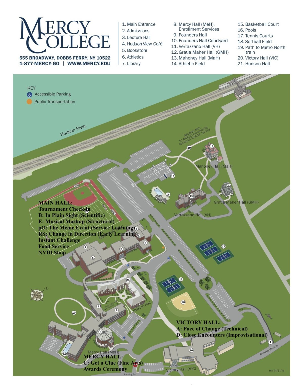 MercyCollegeMap2016 with challenges