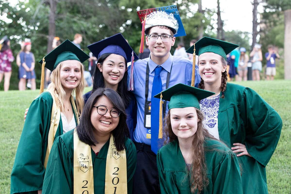 high school graduation photo
