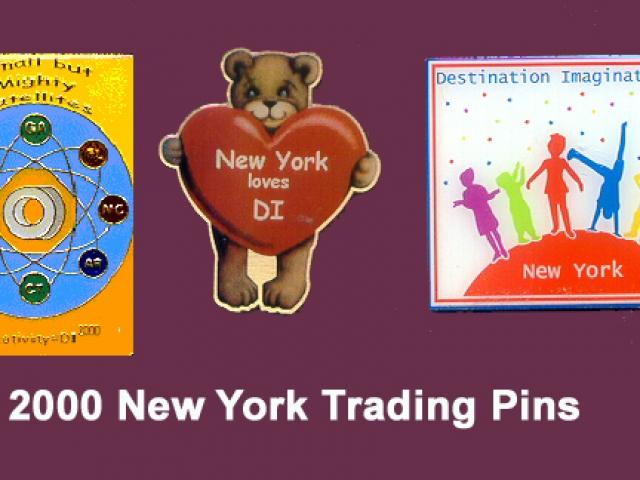 2000 NYDI Trading Pins