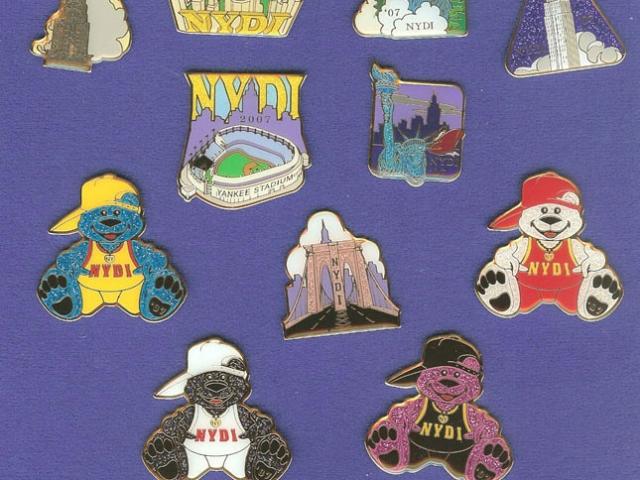 2007 NYDI Trading Pins