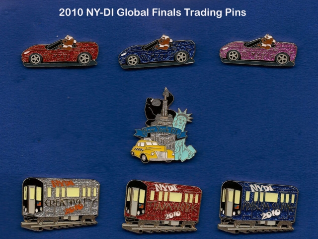 2010 NYDI Trading Pins