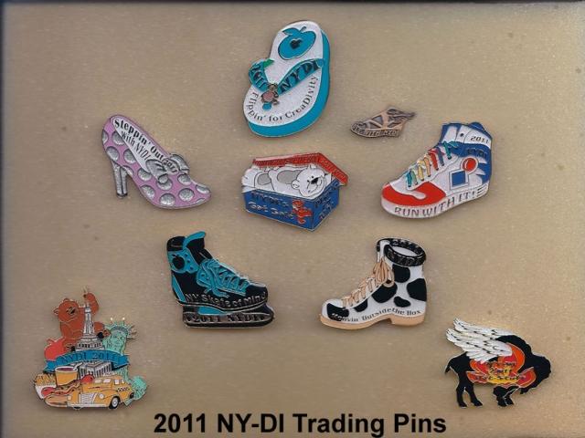 2011 NYDI Trading Pins
