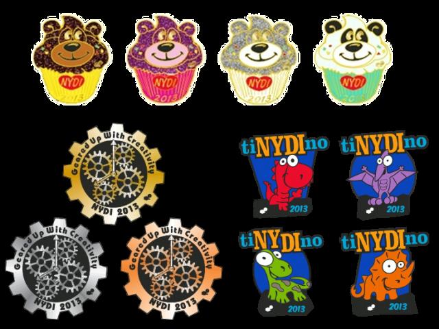 2013 NYDI Trading Pins