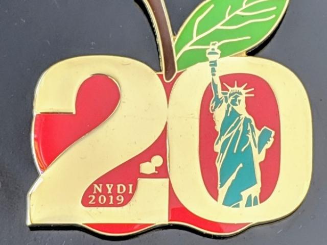 NYDI 20th Anniversary Apple